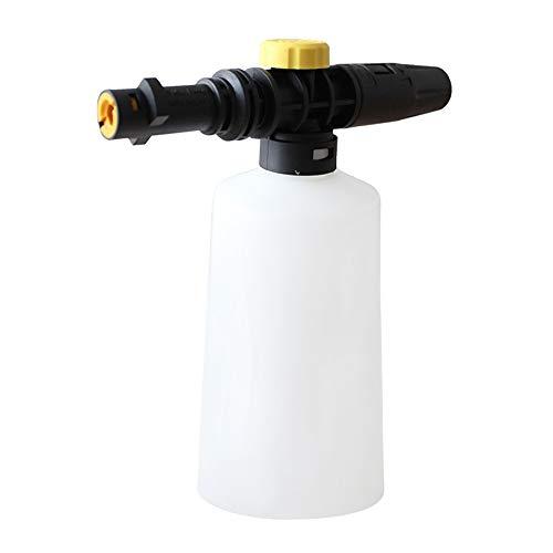 Autocare Cañón de espuma de nieve para Karcher K2 K3 K4 K5 K6 K7, limpiador a presión, botella de 750 ml de jabón con pistola