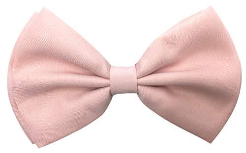 Consumable Depot Pajarita para adulto   Corbata ajustable para hombre y mujer   Accesorios para hombre y mujer, Boda Rosa, Adulto
