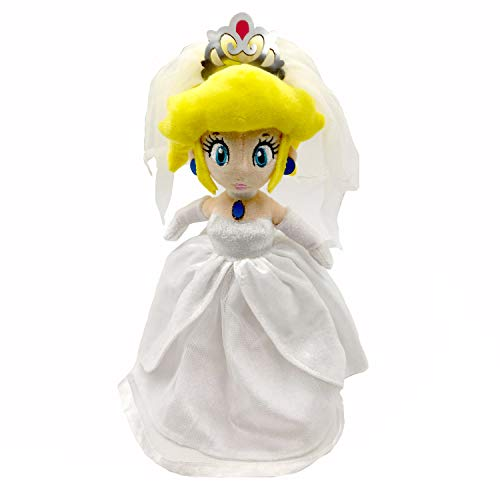 Yijinbo Super Mario Odyssey Princesa Peach Vestido de Novia