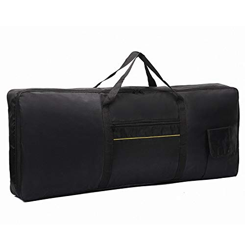Keyboard Gig Bag 61 Keys Keyboard Bag Case Padded Electric piano Case Waterproof 600D Oxford Cloth Keep From Dust and Dirt