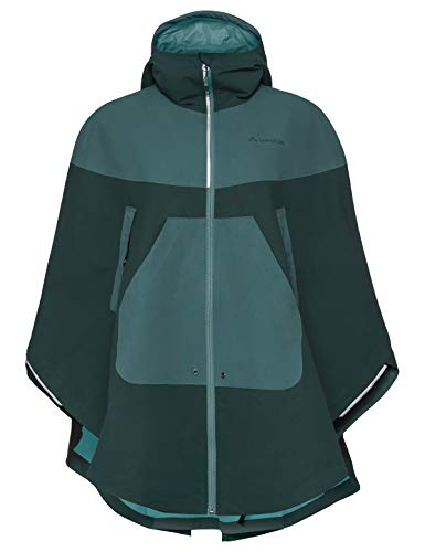 VAUDE Damen Poncho Cyclist Cape, quarz, L/XL, 412549675500