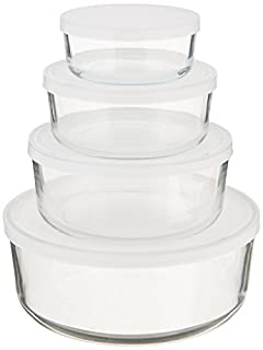 BORMIOLI ROCCO Round Storage Bowls With Lids, 1 EA (B000KNWK14) | Amazon price tracker / tracking, Amazon price history charts, Amazon price watches, Amazon price drop alerts