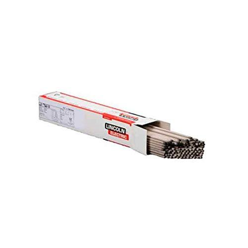 Lincoln Electric Limarosta 557466 - Electrodo de acero inoxidable 316L, diámetro de 3,2 mm, longitud de 350 mm, caja de cartón de 10 libras