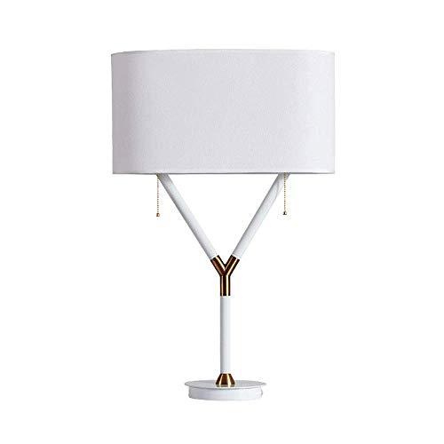 Tafellamp, leeslamp, minimalistische stijl, staande lamp van stof, wit, slaapkamer, woonkamer, studeer, salontafel, decoratie, bureaulamp, verticaal