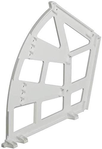 Kantelbeslag voor schoenenkasten. für 3-Fächer/Böden Kunststoff Weiß