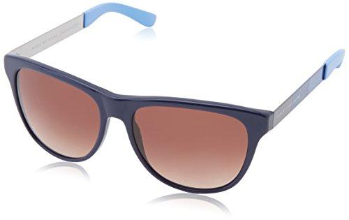Marc by Marc Jacobs MMJ 408/S JD gafas de sol, Dk Lt Bluee, 55 Unisex-Adulto