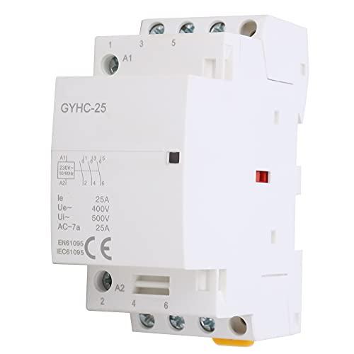 Contactor de CA doméstico de 220 V 3P25A 3NO 50 HZ IP40 SELV 500VAC interruptor de aislamiento de voltaje de aislamiento interruptor de aire contactor