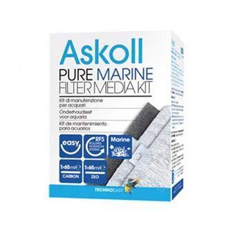 Askoll Ac350017 Pure Marine Filter Media Kit, M