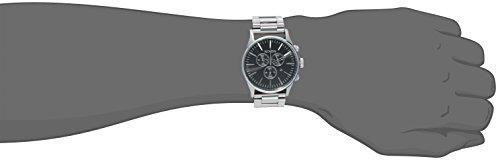 Nixon - A386000 - Montre Homme - Quartz Analogique - Bracelet Acier Inoxydable Argent