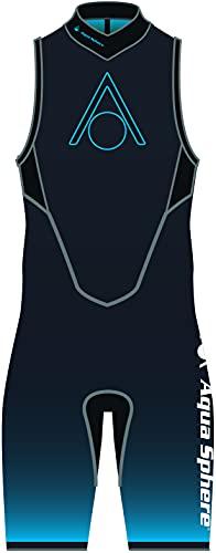 Aquasphere Aquaskin V3 - Pantalón corto de neopreno para hombre (talla XXL)