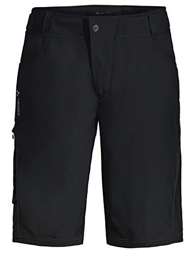 VAUDE Herren Hose Ledro Shorts für den Radsport elastisch, black, 50, 414400105300