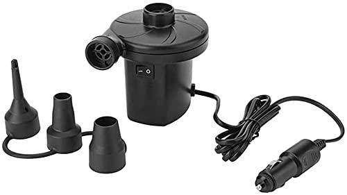 AACXRCR Wiederaufladbare Luftpumpe, elektrische Luftbettpumpe Schnelle Aufblasvorrichtung mit 3 Düsen, aufgeblasene Ablenkpumpe for aufblasbare Bootsluftmatratze Ingenaltes Spielzeug