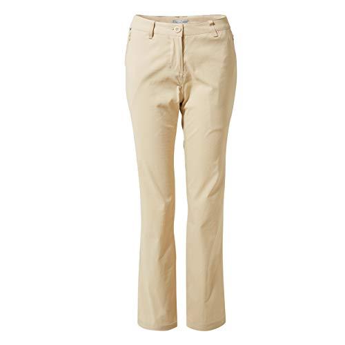 Craghoppers Kiwi Pro TRS Un Pantalon, Desert Sand, 10 Femme