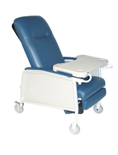 Drive Medical 3 Position Geri Chair Recliner, Blue Ridge