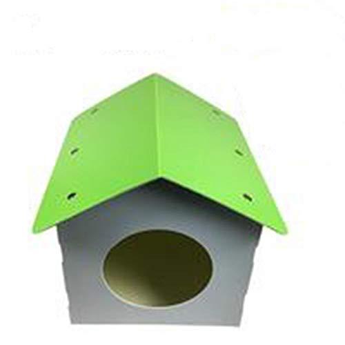 iBaste Hundehütte im Freien - wasserdichte Hundehütte im Freien Regenschutz Sonnenschutz Katzenstreu Zusammenklappbares Haustierzelt Hundebett