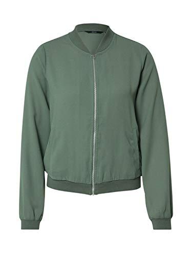 VERO MODA Damen VMISABEL L/S Bomber Jacket Color Jacke, Laurel Wreath, XS
