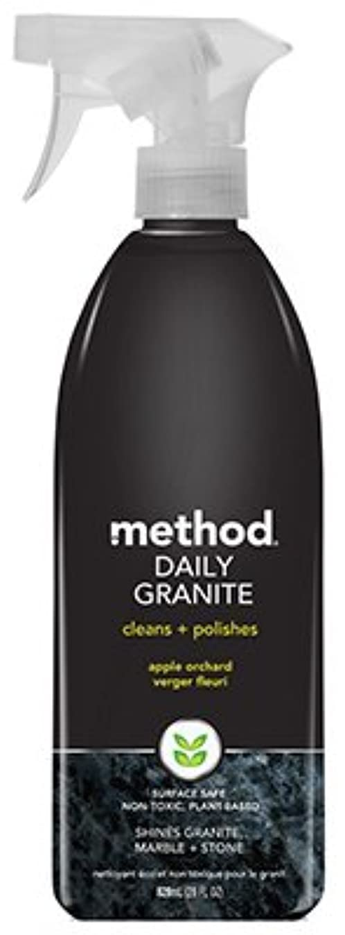 Method Daily Granite Cleaner, Apple Orchard Scent, 28 oz Spray Bottle