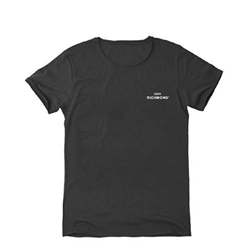 John Richmond, T-Shirt Sean, Nero, RCH_RMA19243-A Blk - M