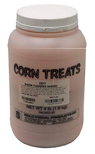 Fantastic Deal! Beach City Wholesalers Savory Shakers Bacon Popcorn Seasoning 4 lb jar (1 count)