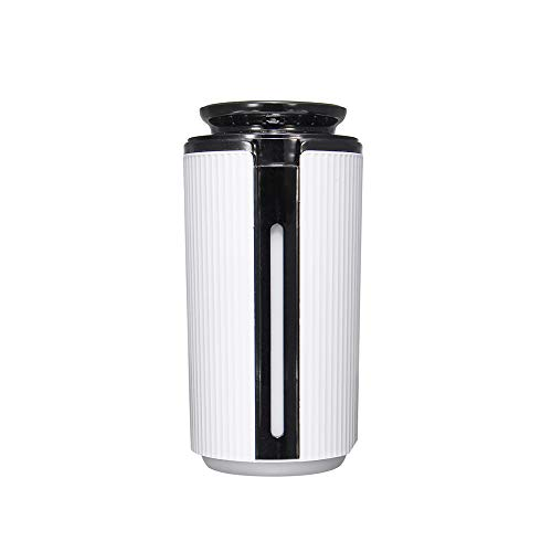 JWC Diffusor-Luftbefeuchter mit ätherischen Ölen, 900 ml EIN-Knopf-Betrieb mit großer Kapazität Buntes Atemlicht Verhindert Trockenbrand Separater Wassertank für zu Hause
