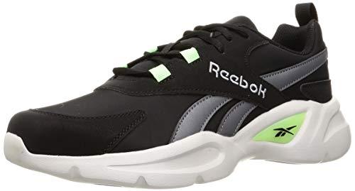 Reebok Royal EC Ride 4, Zapatillas de Running Unisex Adulto, NEGRO/PUGRY3/NEOMNT, 43 EU