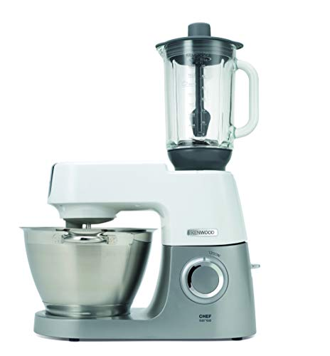 Kenwood-ThermoResist-Glas-Mixaufsatz-KAH359GL-Zubehoer-fuer-Kenwood-Chef-Kuechenmaschinen-hitzebestaendiger-Glasbehaelter-fuer-Eis-Suppen-Co-inkl-Ruehrstick-AnthrazitSilber