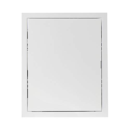 200x250mm Revisionsklappe Revisionstür Revision Stahlblech Weiß 20x25 cm
