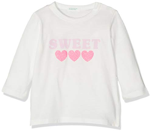 United Colors of Benetton Baby-Jongens T-s M/L Sweet Cuori Glitter Pullunder
