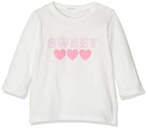 United Colors of Benetton Collage BB G2 Camiseta de Tirantes, Blanco (Bianco Panna 074), 80/86 (Talla del Fabricante: 82) para Bebés