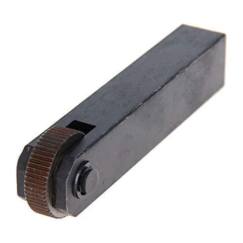 Herramienta de moleteado lineal de una rueda recta 1.5mm Negro 1pieza(s)