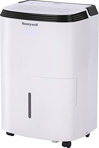 Honeywell 70 Pint with Built-In Pump Dehumidifier for Basement & Large Room Up to 4000 Sq. Ft. with Anti-Spill Design, TP70PWK