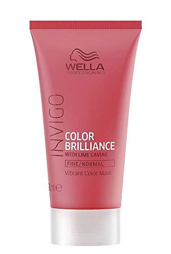 Wella INVIGO Color Brilliance Mask Fine mascarilla para el pelo Unisex 30 ml - Mascarillas para el cabello (Unisex, 30 ml, 1 pieza(s))