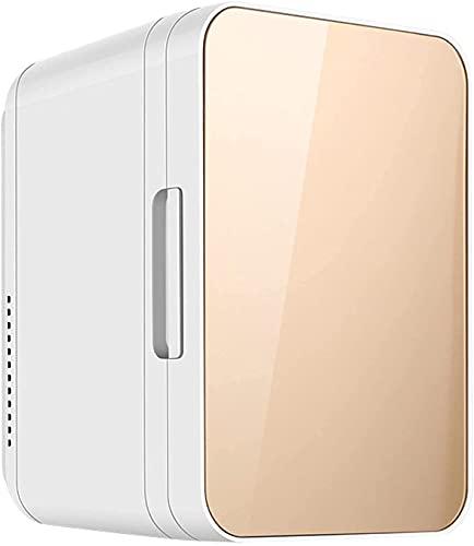 YQDSY Pequeño Refrigerador, Mini Refrigerador sin Ruido 8L Coche Refrigerador Compacto Mini Refrigerador Belleza Nevera Alimentos Portátiles Medicamentos Maquillaje Alenamiento Refr