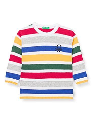 United Colors of Benetton Maglia G/C M/L 1036Q1902 Suter, Rayas Multicolor 911, 2 Años para Bebés