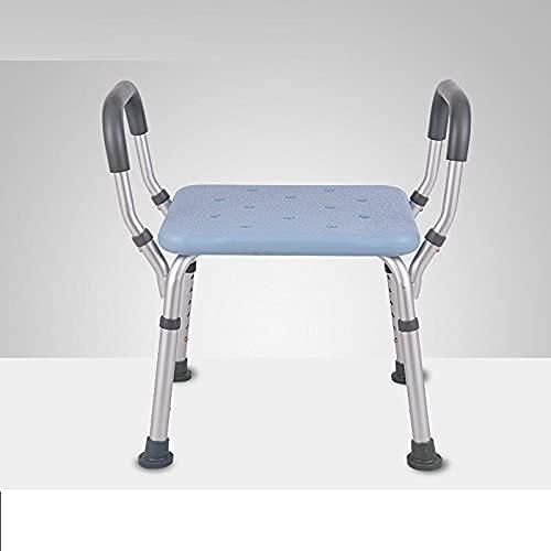 YNLRY Idoso Mobili Per La Casa Sgabello Tabouret Wc Bathroom Mueble Tocador Toilet Step Bath Escalon Plegable Foot Stool Shower Chair (Color : Version J)