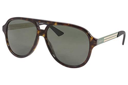 Gucci Gafas de Sol GG0688S Havana/Green 59/14/145 hombre