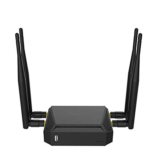【High Speed】Dual Band 1200Mbps Wireless Internet WiFi Router   WE3926 Open Source OpenWRT 802.11ac Smart WiFi Router   Best Router For Streaming and Gaming   Long Range WiFi Router For Larger Homes