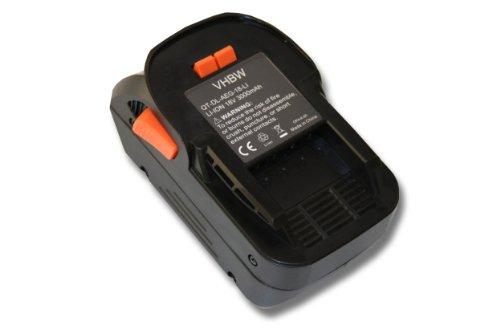 2x premium Batterie 18v 2000mah Li-Ion pour Güde Batterie-Débroussailleuse GRT 260 18 Li-Ion