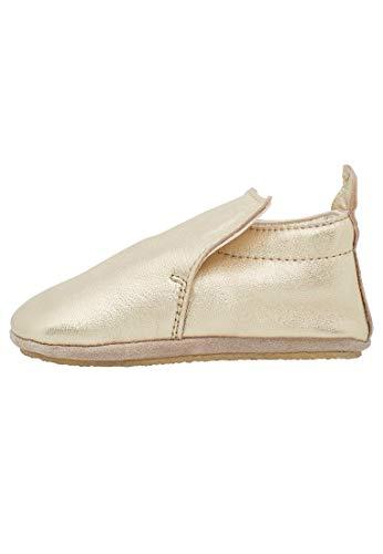 Naturino PLUMARD-- Zapatos de parque de piel de napa platino, Dorado (platino), 18 EU