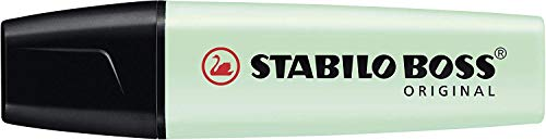 Rotulador punta fina STABILO point 88 Estuche con 15 colores (5 fluor) + STABILO BOSS Original PASTEL Marcador Estuche 6 colores