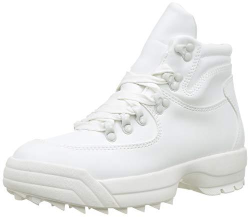 Dorothy Perkins White Iggy Hiker Trainers, Baskets Slip-on Garçon, Blanc 020, 35.5 EU