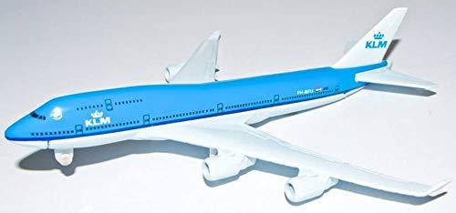 SXOH Boeing 747 KLM metalen vliegtuig model 16 cm