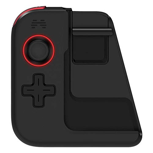 Zhengowen Gamepad Gamepad sans Fil BT Design for Gamepad Joystick télescopique Holder latéral Simple BT5.0 Wireless Gamepad (Couleur : Black, Size : One Size)
