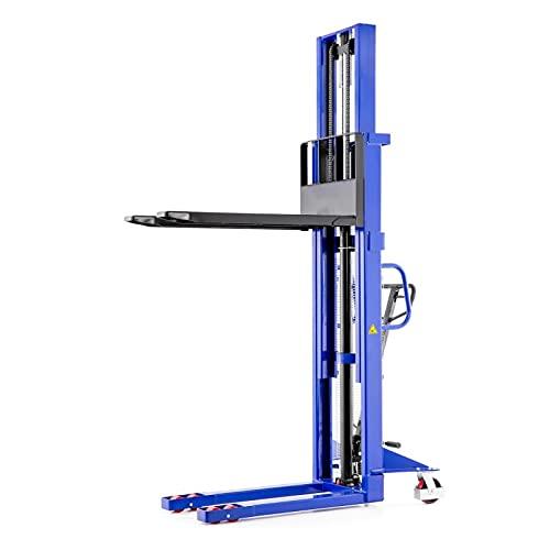 Hochhubwagen Handstapler Hydraulik-Stapler | Tragkraft 1,0t / 1000 kg - Hubhöhe 3,0m / 3000 mm - Gabellänge 1150 mm