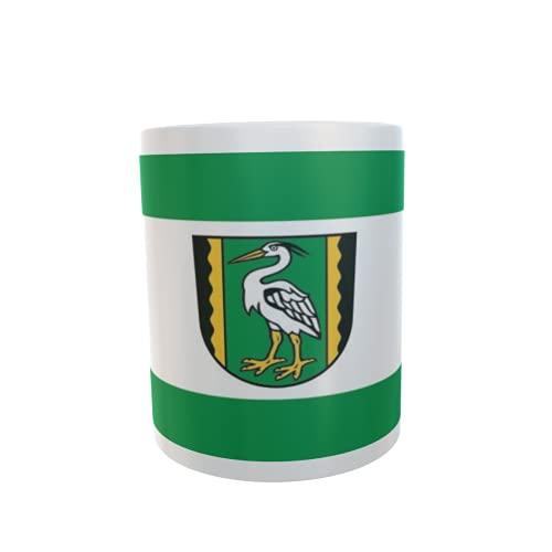 U24 Tasse Kaffeebecher Mug Cup Flagge Gardelegen OT Mieste