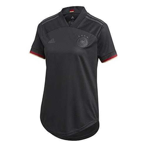 adidas Alemania Temporada 2020/21 Camiseta Segunda equipación, Unisex, Negro, XL