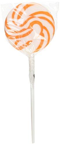 Bright Orange Swirl Pops (2 dz)