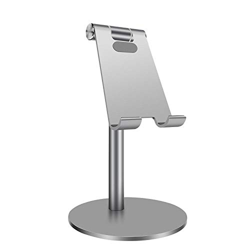 SXPSYWY Soporte para teléfono móvil Soporte de Mesa Plegable Universal para teléfono Celular Soporte de Escritorio de plástico Soporte para Tableta para teléfono móvil para iPhone Samsung TSLM14