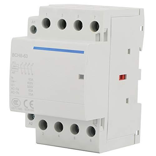 Contactor de AC 4P 2NO 2NC 63A 24V / 230V 50 /...