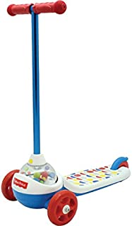 Fisher-Price 3-Wheeled Scooter with Corn Popping Sound
